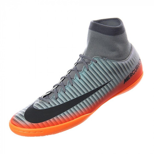 new style d7f36 624c3 Nike MercurialX Victory VI CR7 DF IC - Cool Grey Metallic Hematite (5818)