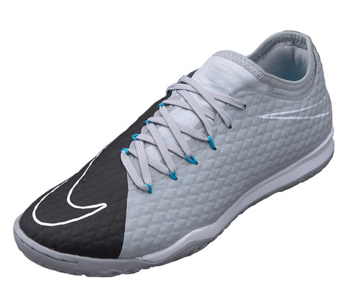 Nike HypervenomX Finale II IC - Wolf Grey/Black/Chlorine Blue (42617)