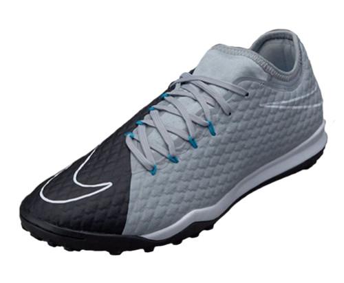 Nike HypervenomX Finale II TF - Wolf Grey/Black/Chlorine Blue (42617)