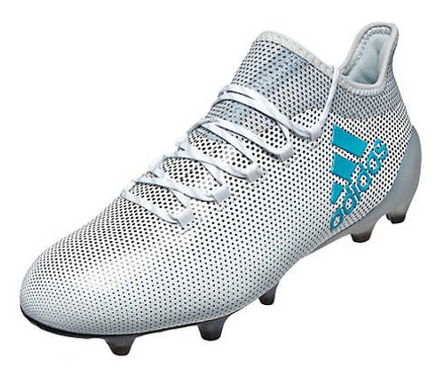 adidas X 17.1 Fg - White/Energy Blue (10717)