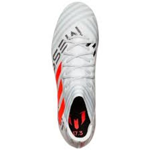 a7c89ee5937f Adidas Nemeziz Messi 17.3 FG - White/Solar Orange (101917) - ohp soccer