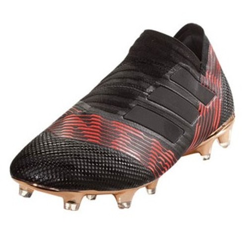 Adidas Nemeziz 17+ FG - Core Black/Solar Red (12217)