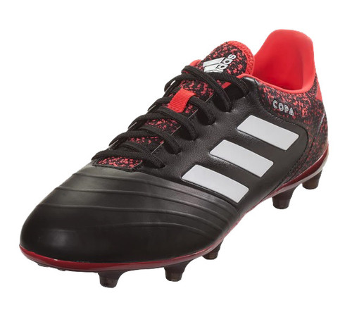 Adidas Copa 18.2 FG - Core Black White Real Coral (011018) - Cheap ... 70e369ad68859