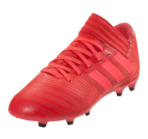 Adidas Nemeziz 17.3 FG J - Real Coral/Red Zest/Core Black (011018)