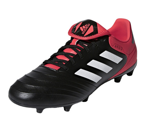 Adidas Copa 18.3 FG - Core Black / Future White / Real Coral (12818)