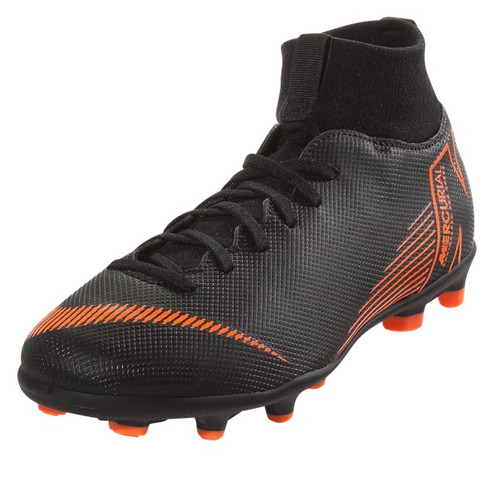 Nike Jr. Superfly 6 Club MG - Black/Total Orange/White (3318)
