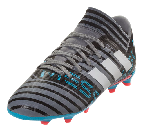 Adidas Nemeziz Messi 17.3 FG J - Grey/White/Core Black (31818)