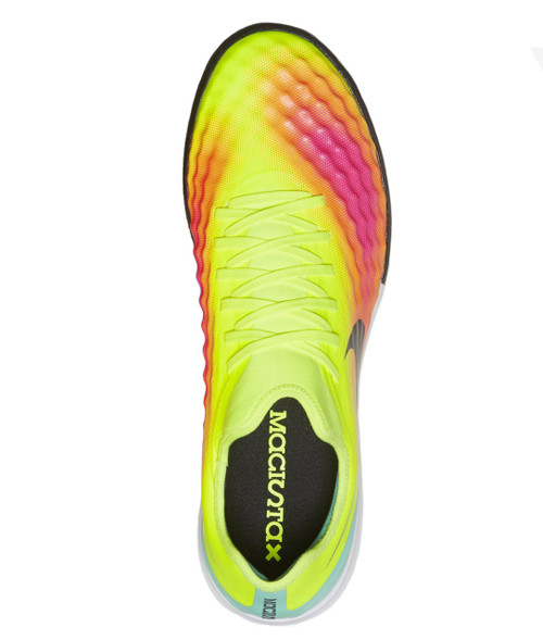 36cca469a ... Nike MagistaX Finale II TF - Volt Black Total Orange Pink Blast ...