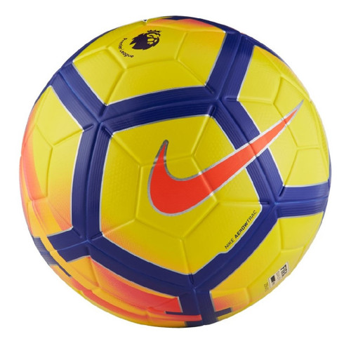 Nike Ordem V Premier League 17/18  Official Match Ball - Yellow/Purple/Crimson (41518)