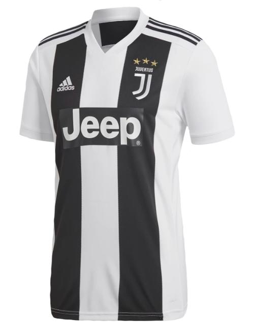 Adidas Juventus Home Jersey 18/19 - White/Black (10518)