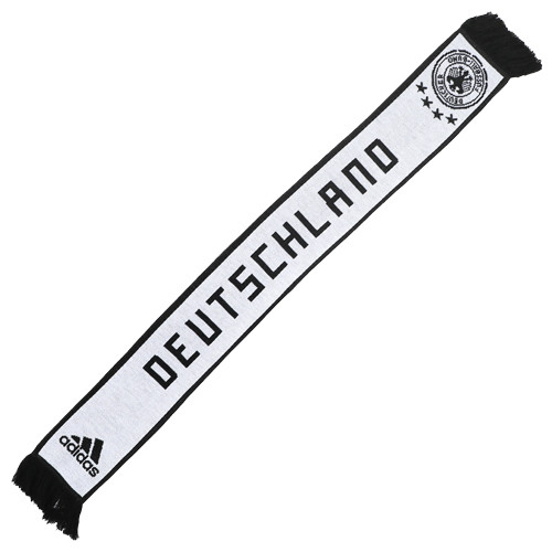 Adidas Germany 2018 Home Scarf - White/Black (52818)