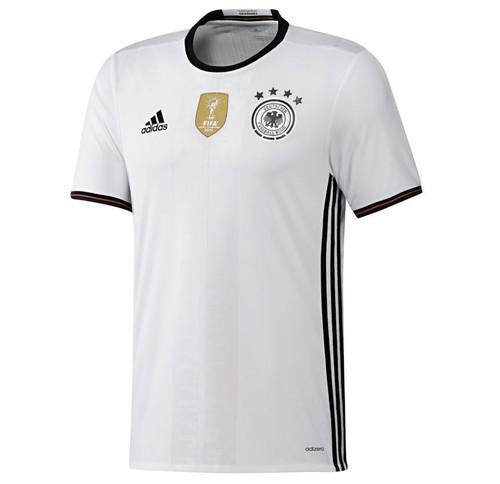 Adidas Germany Home Kit 2016/17 -White/Black (52818)