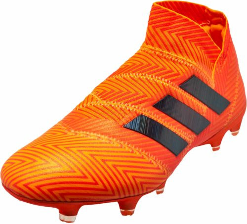 Adidas Nemeziz 18+ FG - Zest/Core Black/Solar Red RC (91518)