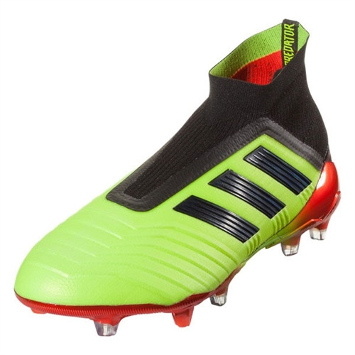 Adidas Predator 18+ FG - Solar Yellow/Core Black/Solar Red (61018)