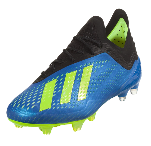 Adidas X 18.1 FG - Football Blue/Solar Yellow/Core Black (91518)