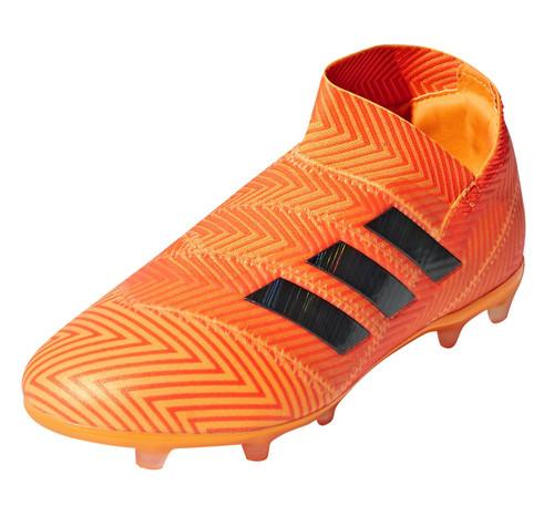 Adidas Nemeziz 18+ FG J - Zest/Core Black/Solar Red RC (91518)