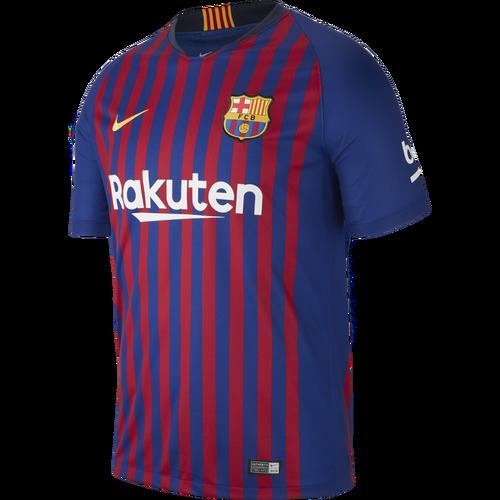 Nike Barcelona 18/19 Home Jersey -Deep Royal Blue/University Gold (72518)