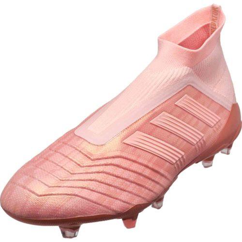 Adidas Predator 18+ FG - Clear Orange/Clear Orange/Trace Pink (92518)