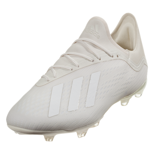 Adidas X 18.2 FG - Off White/ Cloud White/ Core Black (10118)
