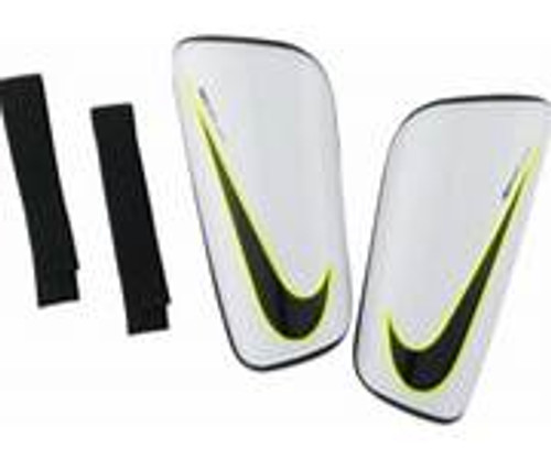 Nike Mercurial Hard Shell Shin Guards -White/Black (101118)