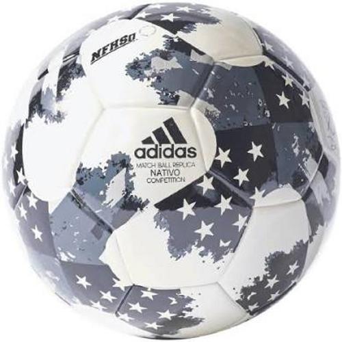 Adidas 17 NFHS MLS Top Traning Soccer Ball -White/Black (102218)
