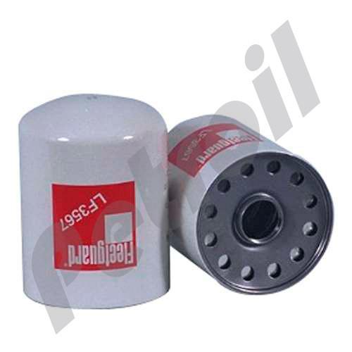 Case of 6) LF3567 Fleetguard Oil Filter Spin On John Deere AR98329