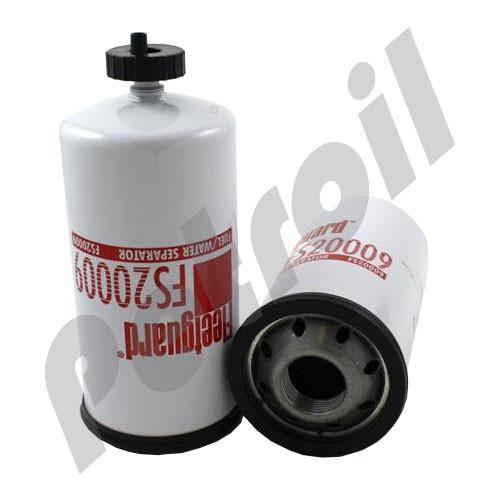 (Case of 6) FS20009 Fleetguard Fuel Separator Spinon P551354 BF7925 33804  F9201 1R1804 26560201