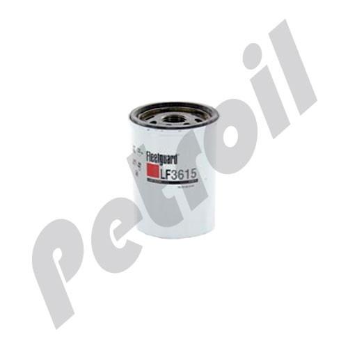 (Case of 12) LF3615 Fleetguard Oil Filter Spin On Nissan 15208-53J00