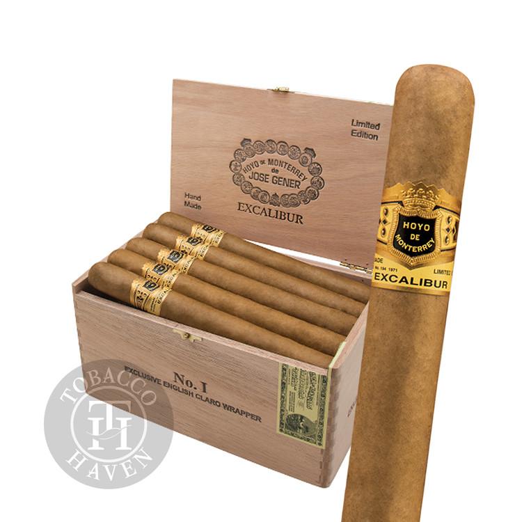 Excalibur  No I - English Claro -  7 1/4 x 54 Cigars (20 Count)