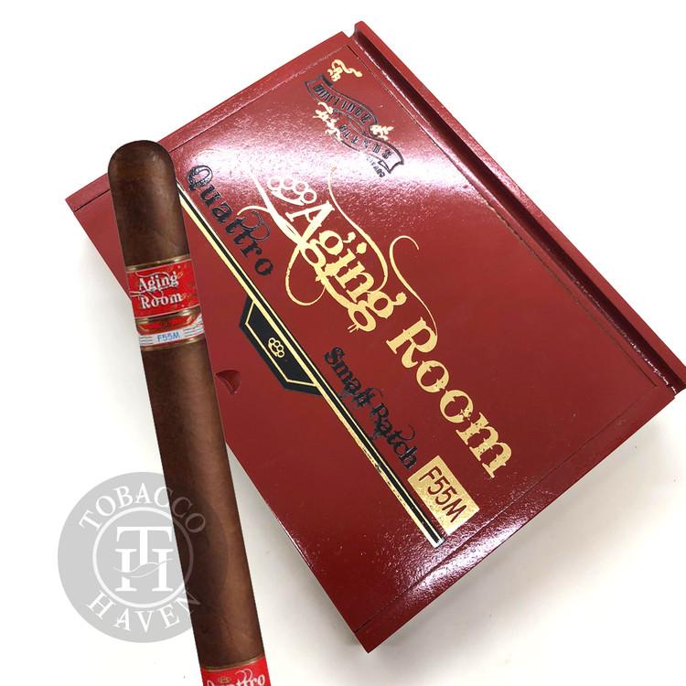 Aging Room Quattro F55 Maduro Espressivo Cigars (Box of 10)