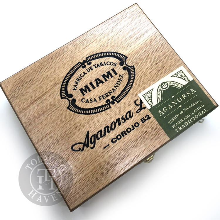 Casa Fernandez Aganorsa Leaf Robusto Cigars (Box of 15)
