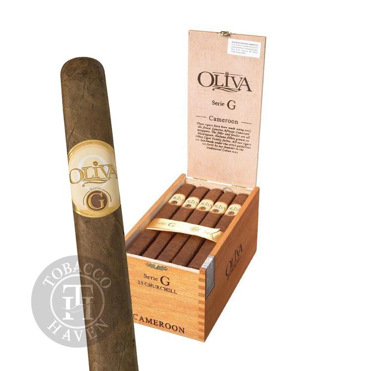 Oliva - Serie G - Figurado Cigars, 6x60 (25 Count)