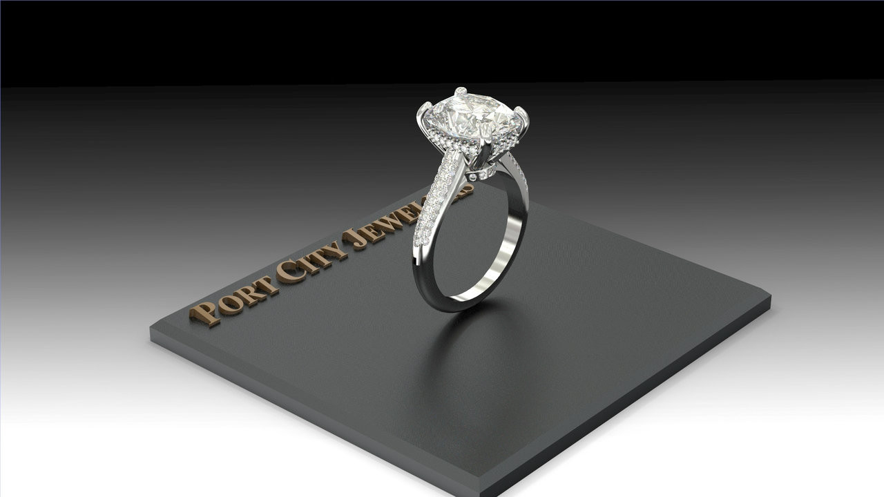 vs a more on rather diamond engagement wedding should spend or rings buy money ring gold moissanite you