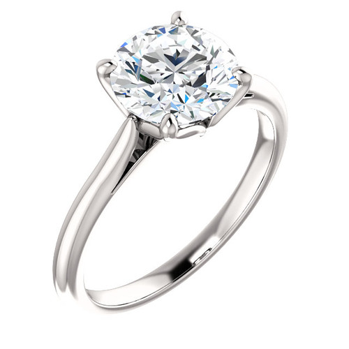 The Annabelle Ring Series  - NEO Moissanite Engagement Ring - 1CT Round