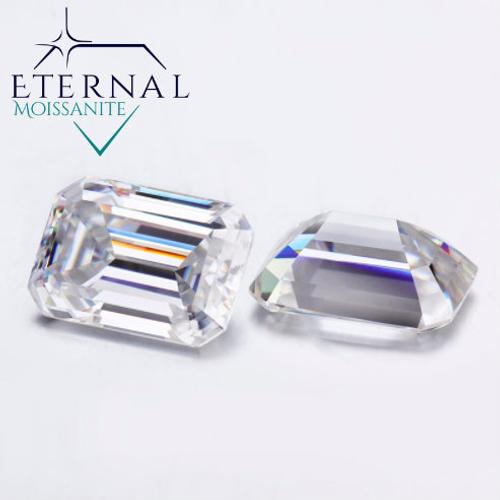 EMERALD CUT - Eternal® Moissanite Loose GEM -  VIDEO BELOW!  BEST PRICE ON THE NET!