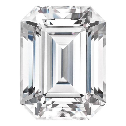 Forever One Charles & Colvard Loose Emerald Cut Moissanite