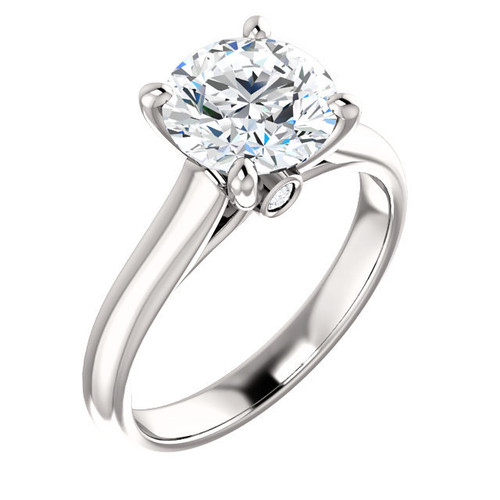 The Hannah Ring Series - Eternal Moissanite 3CT Round Brilliant Cut Solitaire Engagement Ring! - LIMITED TIME SALE