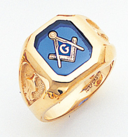 Men's Master Mason Ring VERY HANDSOME