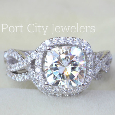 Port City Jewelers Forever One Moissanite
