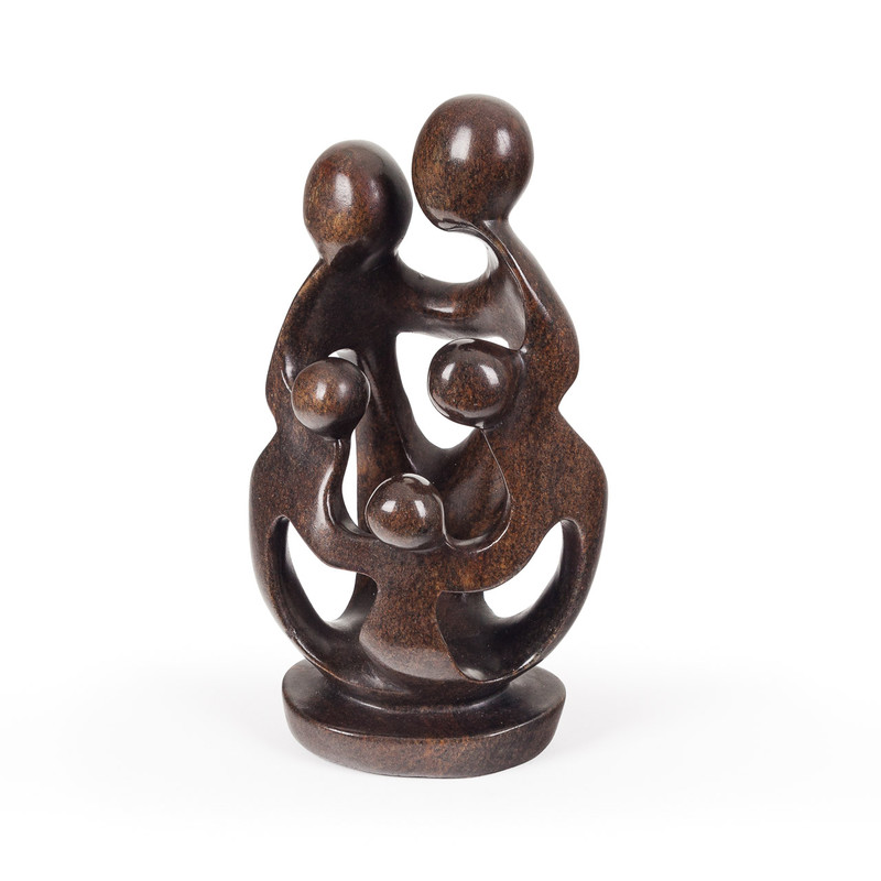 Soapstone Family Carving