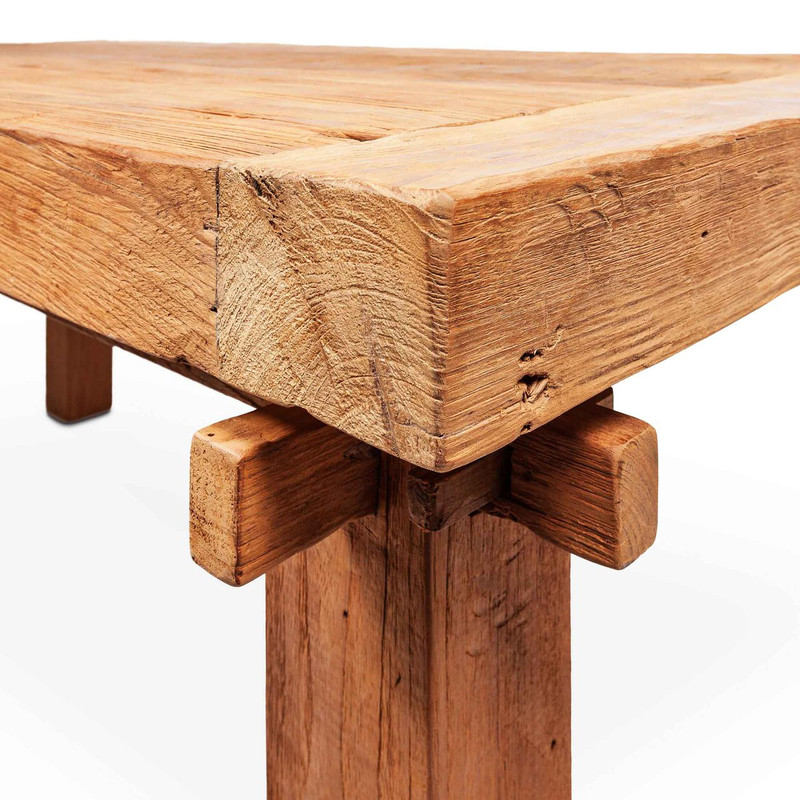 Chunky Timber Dining Table
