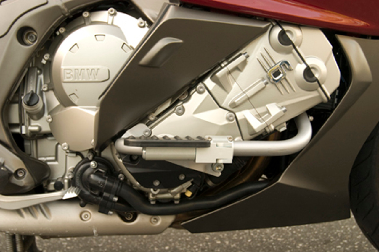 BMW K1600GT/GTL Highway Pegs / Engine Guard Bar Kit Silver