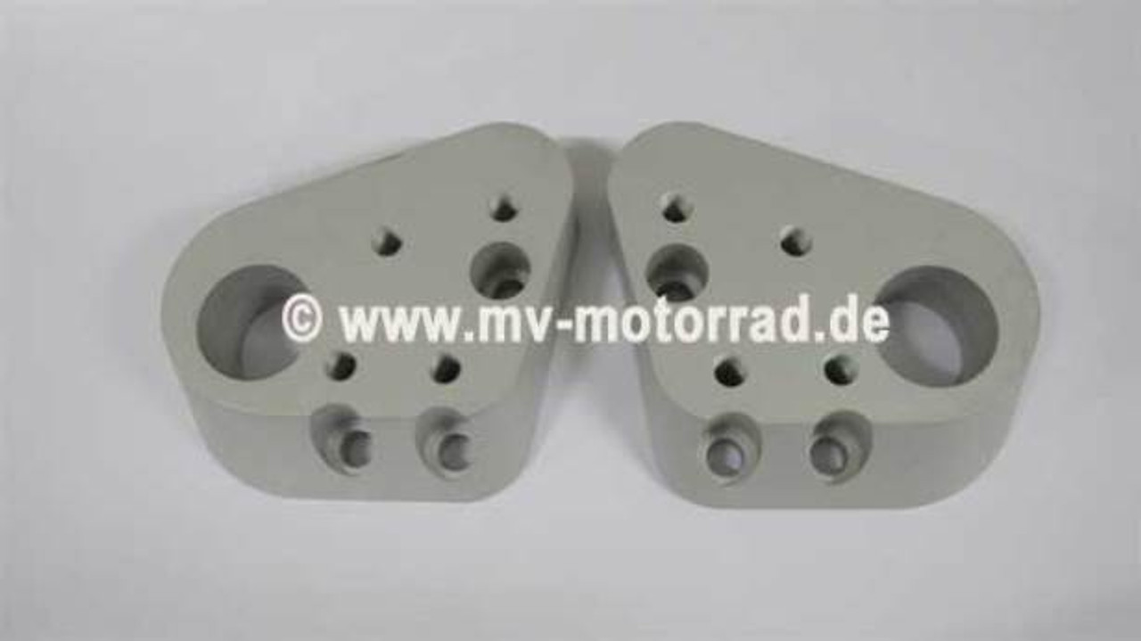 BMW R1200RT R1100/50RT Handlebar riser 25mm Up & Back