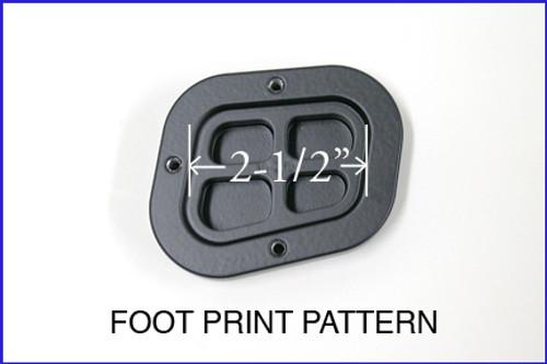 Sidestand Foot plate Riser Enlarger R1200GS (08-12) R1200GSA (08-13)