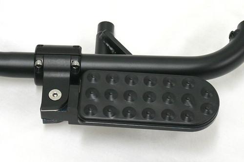 BMW K1600GT/GTL Highway Pegs / Engine Guard Bar Kit Black