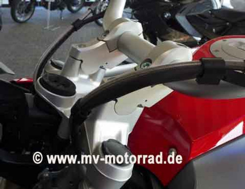 "R1200GSW 2013 + Handlebar riser 2"" move with Brake/Clutch adapt"