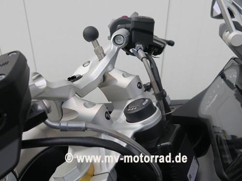 BMW R1200RS Handlebar Risers / Barbacks move bars 60mm back and 30mm up R12RSLC