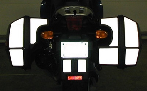 BMW K1200RS Side Bag Reflective Tape Kit