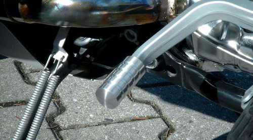 Shift Lever Enlargement Polished HORNIG