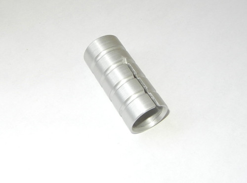 Shift Lever Enlargement Silver Anodized HORNIG